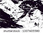 distressed background in black... | Shutterstock . vector #1337605580
