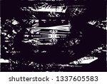 distressed background in black... | Shutterstock . vector #1337605583