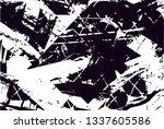 distressed background in black... | Shutterstock . vector #1337605586