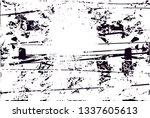 distressed background in black... | Shutterstock . vector #1337605613