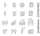 people icons   person work... | Shutterstock .eps vector #1337607863