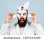 happy easter  easter day.... | Shutterstock . vector #1337614100
