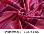 colorful striped indian fabric  ... | Shutterstock . vector #133761503