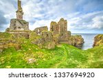 Scottish Fortress Of Castle...