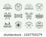 set of vintage carpentry ...   Shutterstock .eps vector #1337705279