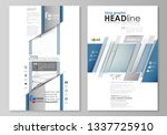 blog graphic business templates.... | Shutterstock .eps vector #1337725910