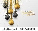 french joyeuse nouvelle annee.... | Shutterstock . vector #1337730830