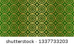 seamless patterns set  abstract ... | Shutterstock .eps vector #1337733203