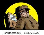 secret plans | Shutterstock .eps vector #133773623