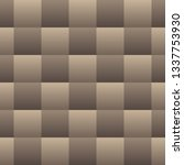 natural tone gradient checkered ... | Shutterstock .eps vector #1337753930