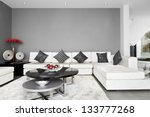 interior design  living room | Shutterstock . vector #133777268