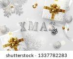 xmas design. christmas... | Shutterstock . vector #1337782283