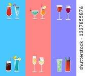 having fun cocktails party... | Shutterstock . vector #1337855876