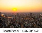 cityscape top view bangkok city ... | Shutterstock . vector #1337884460