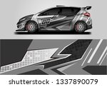 vector car wrap  supercar ... | Shutterstock .eps vector #1337890079