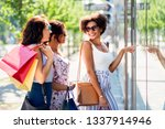 sale  consumerism and people... | Shutterstock . vector #1337914946