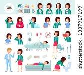 health problems  zika virus... | Shutterstock .eps vector #1337917199