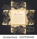 Laser Cut Wedding Invitation...