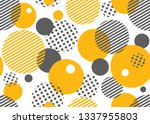 geometric seamless pattern with ... | Shutterstock .eps vector #1337955803