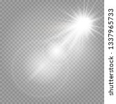 transparent and shining... | Shutterstock .eps vector #1337965733