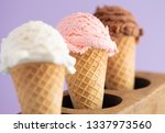 line of three classic flavors... | Shutterstock . vector #1337973560