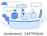 modern cartoon flat characters... | Shutterstock .eps vector #1337992616