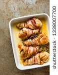 close up of tray of roasted... | Shutterstock . vector #1338007700
