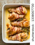 close up of tray of roasted... | Shutterstock . vector #1338007730