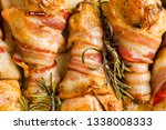 close up of tray of roasted... | Shutterstock . vector #1338008333