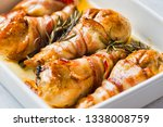 close up of tray of roasted... | Shutterstock . vector #1338008759