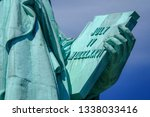 Close Up View Of The Statue Of...