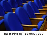 seats in conference room for... | Shutterstock . vector #1338037886