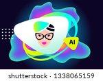 concept for ai  artificial...   Shutterstock . vector #1338065159