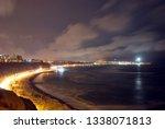 coastline in lima  peru | Shutterstock . vector #1338071813