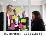 business people meeting team ... | Shutterstock . vector #1338118853