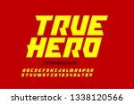 comics style font design ... | Shutterstock .eps vector #1338120566