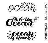 modern hand lettering about... | Shutterstock .eps vector #1338123599