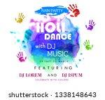 illustration of dj party banner ...   Shutterstock .eps vector #1338148643