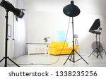 example of living room interior ...   Shutterstock . vector #1338235256