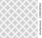 seamless pattern of dots and... | Shutterstock .eps vector #1338240563