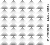 seamless pattern of dots.... | Shutterstock .eps vector #1338240569