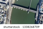 aerial top down photo of sint... | Shutterstock . vector #1338268709