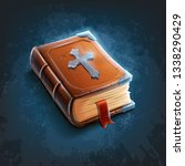 holy bible old | Shutterstock .eps vector #1338290429