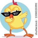 Funny Chick Dabbing Vector...