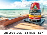 Southernmost Point Landmark On...