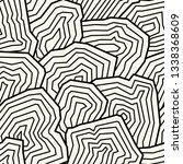 vector seamless pattern.... | Shutterstock .eps vector #1338368609