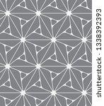 vector seamless pattern.... | Shutterstock .eps vector #1338392393