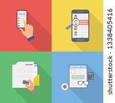 applications  surveys  feedback ... | Shutterstock .eps vector #1338405416