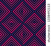 vector geometric seamless... | Shutterstock .eps vector #1338492113