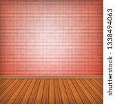 empty room  interior with... | Shutterstock . vector #1338494063